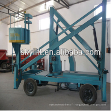 plate-forme industrielle électrique d'ascenseur de table de manivelle