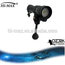 Équipement de plongée de mer lampe de poche pour vidéo 120 faisceaux de faisceau large bcd