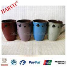 2014 Nueva taza de café de cerámica del diseño / taza de cerámica clásica / taza reactiva del esmalte