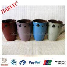 Mug de café en céramique de nouvelle conception 2014 / Tasse en céramique classique / Tasse de glaçage réactif