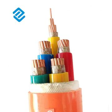 mineral insulated fire proof electrical power cable