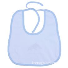 Customized Waterproof White Cotton Baby Bibs Manufacturer