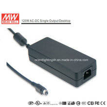 Mean Well 120W AC-DC Desktop Power Supply