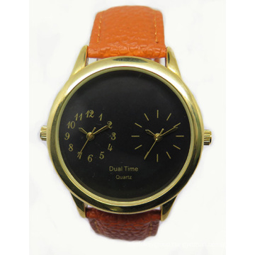 Fashion Unisex Watch with Dual-Precision & 2crown Design