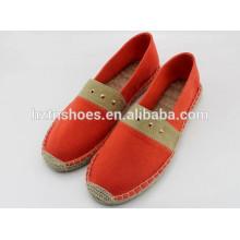 Klassische hotsale Frauen Schuh Esplayrilles mit Nieten Dekoration