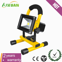 10W LED emergency portable rechargeable flood light