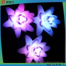 20116 más nueva luz de la vela de la decoración LED de la forma de Lotus