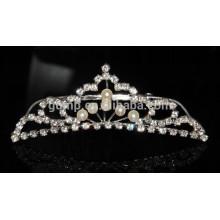 New Desgined Beauty Rhinestone Tiara Comb