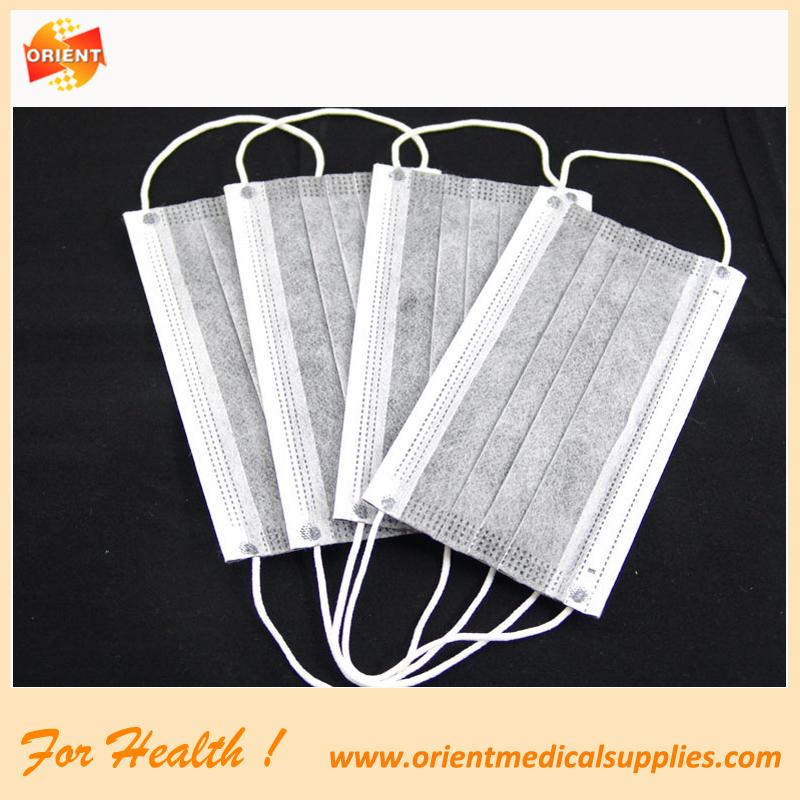 4-ply carbonio attivato maschera viso