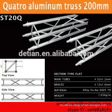 la fábrica de China proporciona el sistema del braguero de aluminio, sistema de exhibición del braguero de aluminio