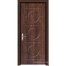 Puerta de madera caliente de la alta calidad de la venta con diseño de la manera