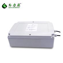 China factory wholesale custom deep cycle 24v 12v 100ah solar lithium battery for solar system