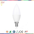 Chandeliers Cheap LED C37 Aluminum Candle Bulb for 4W/6W/8W/10W with E14
