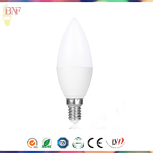 Wholesale C37 Day Light E14 LED Candle Bulb From Hangzhou Lighting
