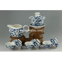 Набор чашек чая керамического подарка Qinghua
