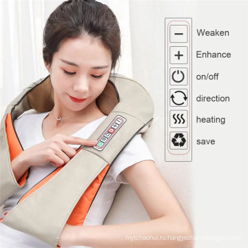Пояс для подушек для массажа шеи и тела с глубоким замешиванием