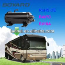 CE RoHS Auto Ar Condicionado Horizontal Compressor rotativo para RV Caravan ar condicionado home car caravana rv ar condicionado