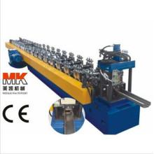 Hydraulische Aluminiumstahltürrahmen-Farbstahl-kalte Rolle, die Maschine / rollende Maschinerie bildet