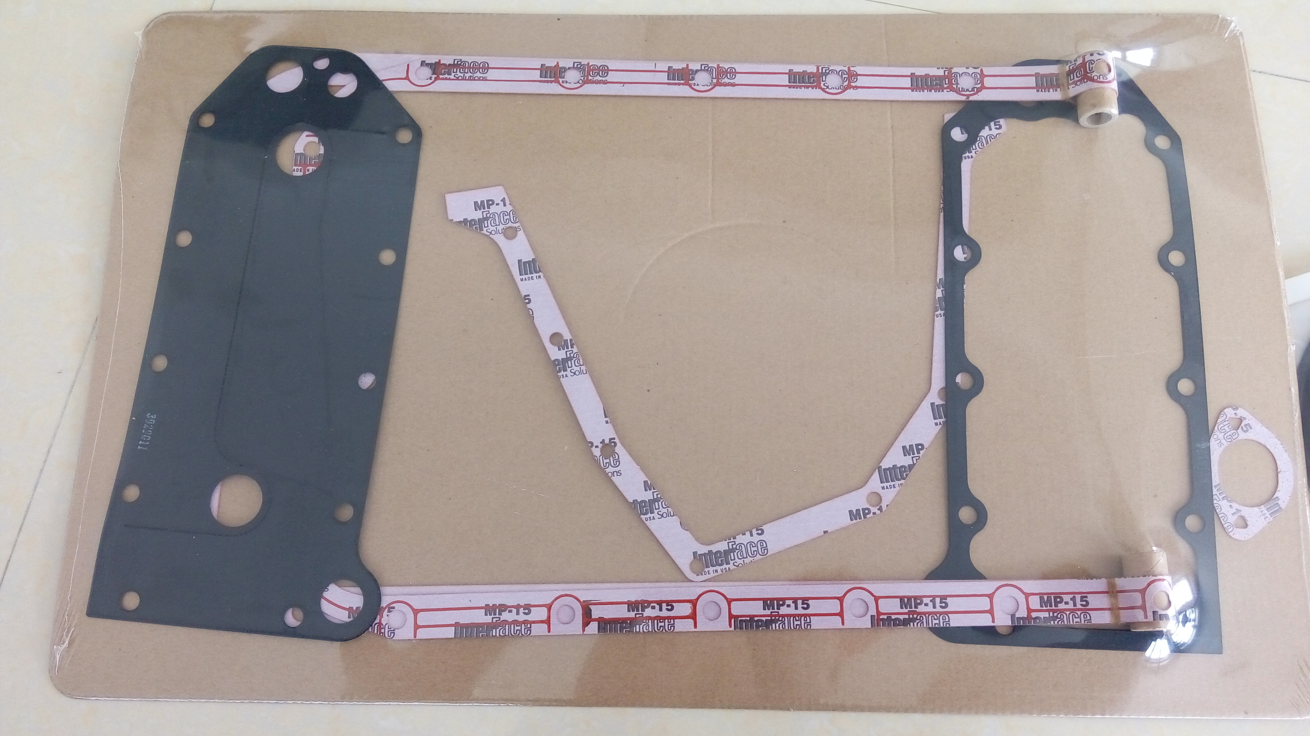 Cummins QSC8.3 lower gasket kit