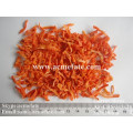 Rebanadas de zanahoria deshidratada más populares 3x3 20mm