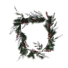 150cm christmas wall hanging wreath garland for front door