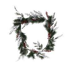 150см Рождество стене висит венок, венок для входной двери