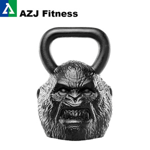 90 Kl Big Foot Animal Face Kettlebell