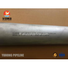 Monel 400 Nickel alliage Tube ASTM B165 UNS N04400 NACE MR0175