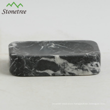 Natural stone soap dish marble bathroom accessory