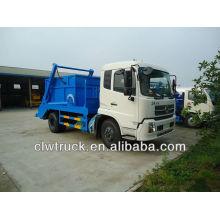 Dongfeng TianJin 8cbm caminhão de lixo de contêiner