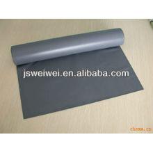 WEIWEI différentes couleurs souple en caoutchouc de silicone enduit en fiber de verre tissu un côté ou deux côtés 0.15mm-2.00mm épaisseur 3.4m largeur