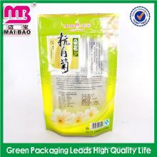 custom logo print chinese culture puer tea bag