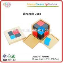 Montessori pädagogisches Spielzeug Binomial Cube