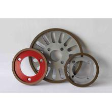 CBN muelas de tejido cuchillas, ruedas de diamante