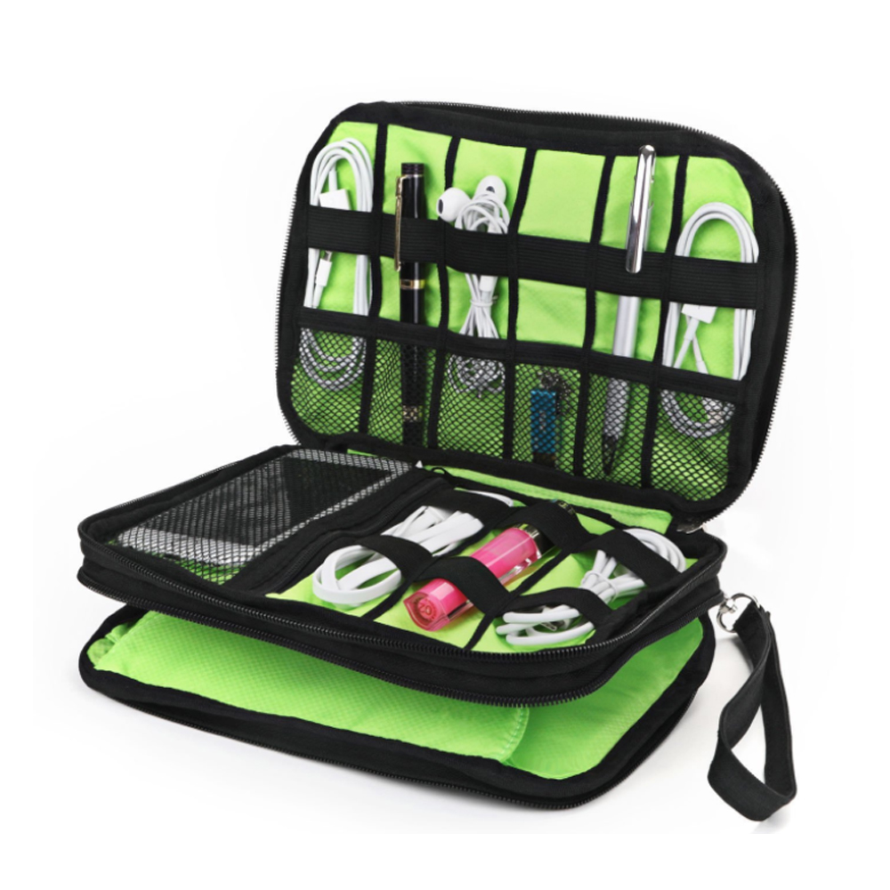 Electronic Accessories Cable Organizer Bag