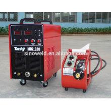 CE aprobó la máquina MIG350 del mig del CO2 del igbt del inversor de la alta calidad