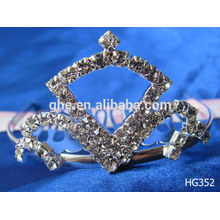 Pearl crown ribbon crowns simple design crown crown