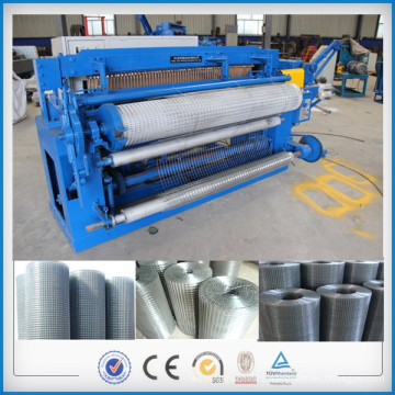 Automatic electro galvanized wire mesh spot welding machine
