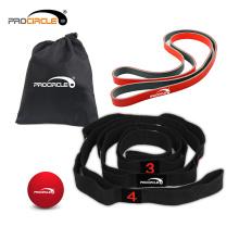 Juego de banda de bucle de resistencia al estiramiento del ejercicio para gimnasia y levantamiento de pesas