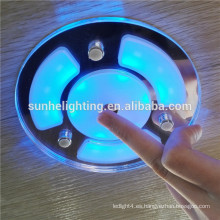 Luz llevada subacuática subacuática del barco de IP68 IP65 RGB / 12v llevó las luces marinas / el yate marina 12v llevó la luz