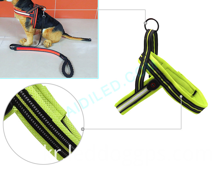 Led Dog Harness Rechargeable
