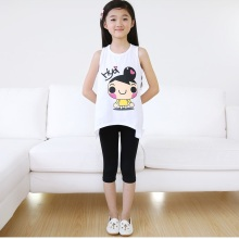 OEM 2015 Good Quality Breathable Plain Kid Leggings