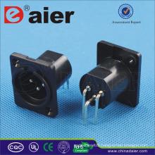 3 Pin Male xlr plug Socket, XLR Plug-