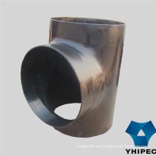 Accesorios de tubería de acero al carbono (T, codo, reductor, tapa)