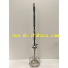 Top Hookah Shisha Chicha cachimbo Nargile Acessórios Haste de alumínio