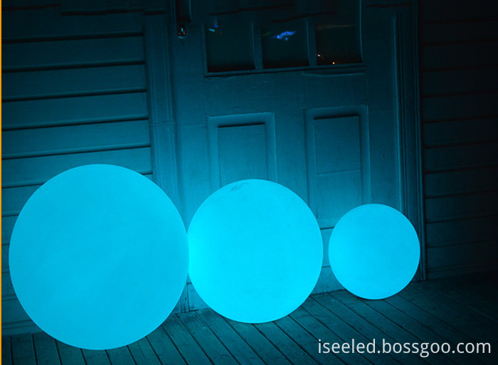 30cm RGB color changing ball