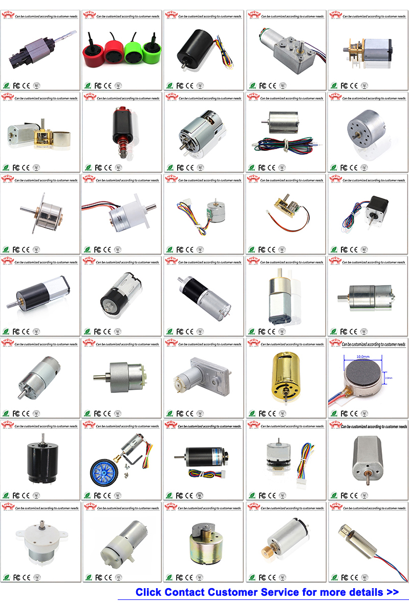 dc flat brush motor