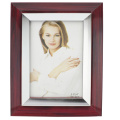 Brown With Silver Inner pvc Photo Frame