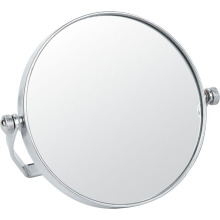Metal and Chrome Double Side Makeup Mirror