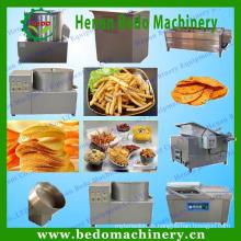 gebratene Kartoffelchips / Stockmaschine / natürliche Kartoffelchipslinie für Verkauf